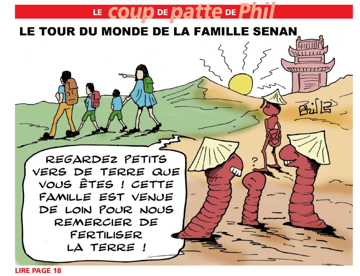 TDM Famille SENAN La Gazette Dessin 03-GC-140918