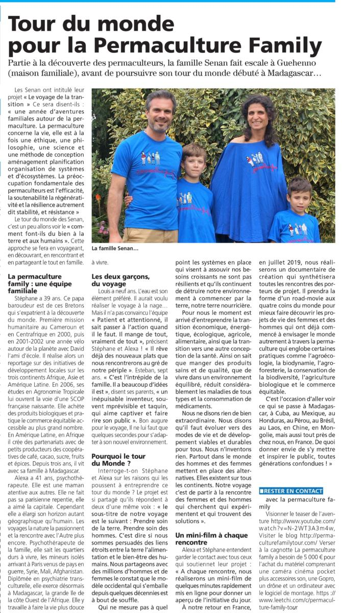 TDM Famille SENAN La Gazette Article 18-GC-140918