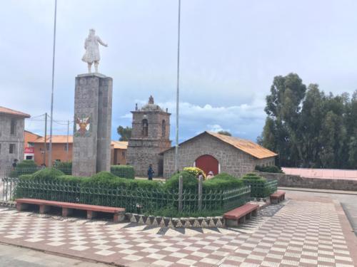 île Taquile, Titicaca