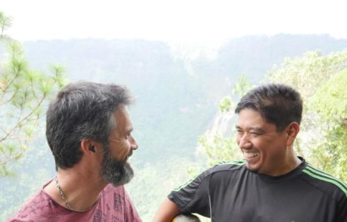 Alex Flores et Stéphane Volcan San Salvador