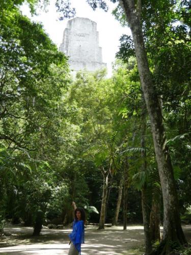 Alexa et la pyramide,Tikal