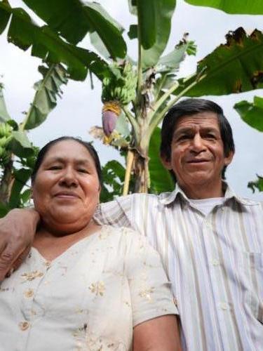 Ana et Luis, producteur banane et cacao Apeosae