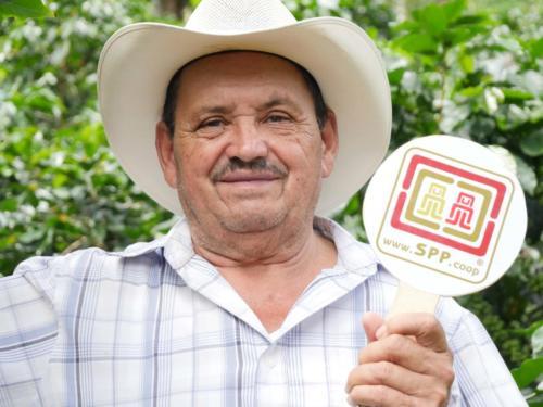 Anastasio ARGUETA, productor café COMSA