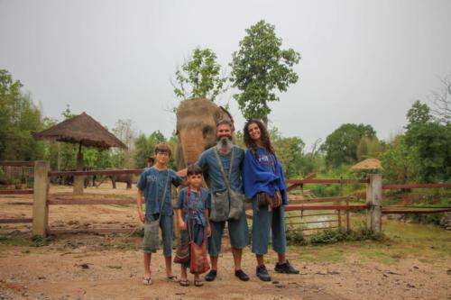 Arrivée MaeRim Elephant Sanctuary (1)