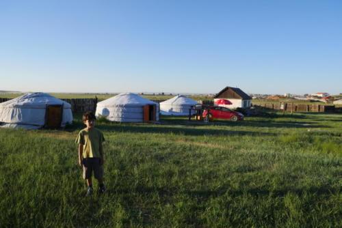 Au camp