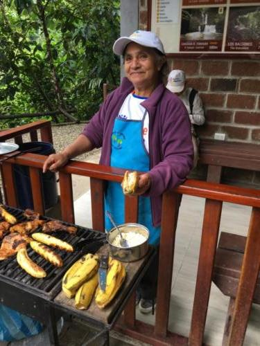 Banane plantain au fromage