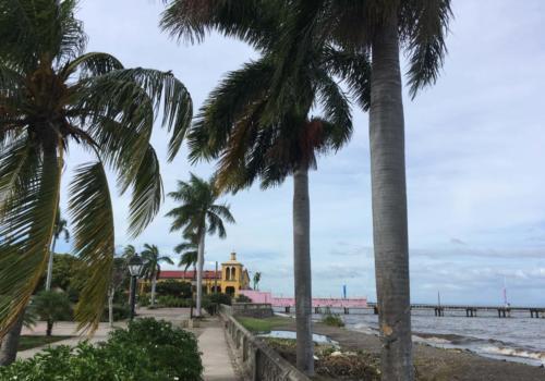 Bord du lac Nicaragua