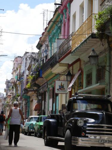 Rue de la Habana vieja