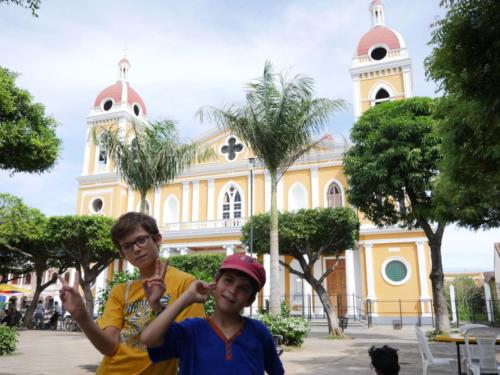 Cathédrale Granada Nicaragua