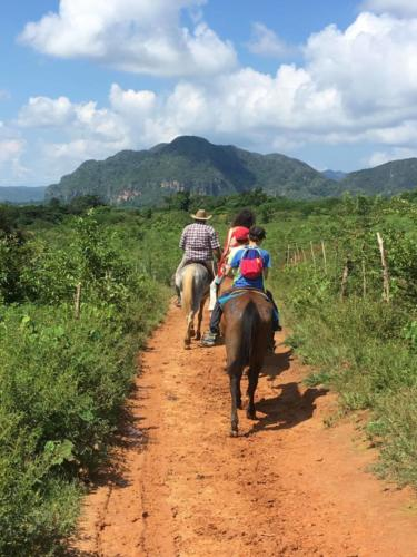 Découverte des fermes agroécologiques à cheval, Vinales