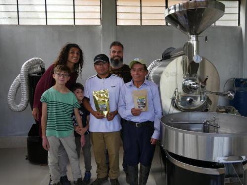 Chez Secundo Guerrero, producteur et torréfacteur de café