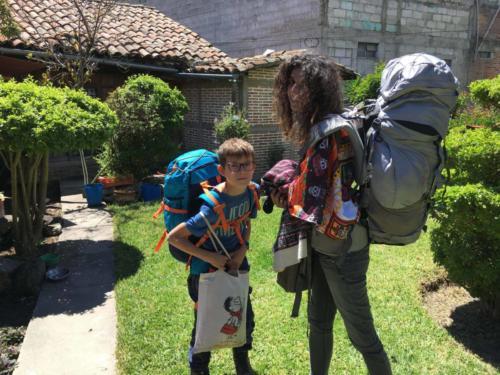 En route, Huehuetenango