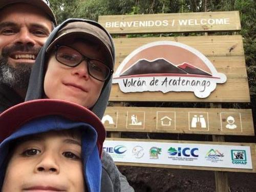 Entrée Parc National Acatenango