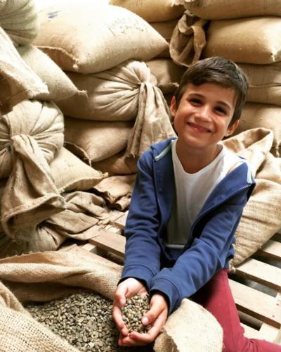 Esteban, futur acheteur de café