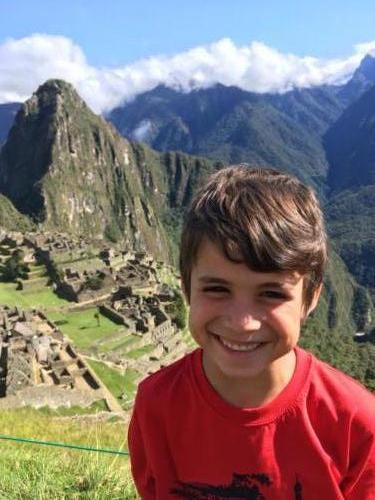 Esteban Machu Picchu