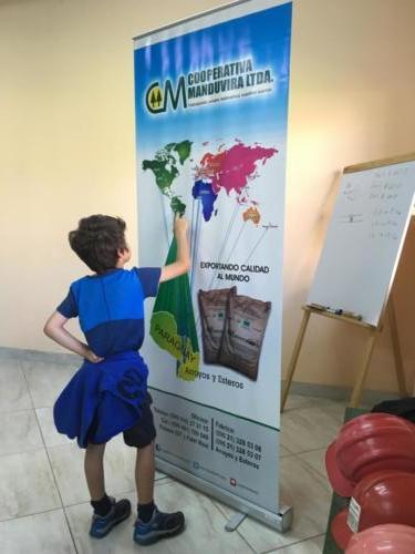 Esteban compte le nb de pays importateurs du sucre Manduvira