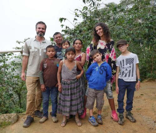 Familias GT y FR Polochic Guatemala