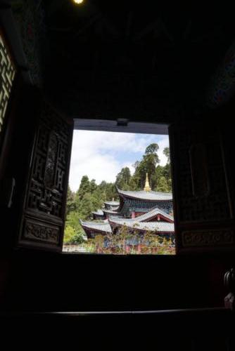 Fenêtre sur Lijiang old town