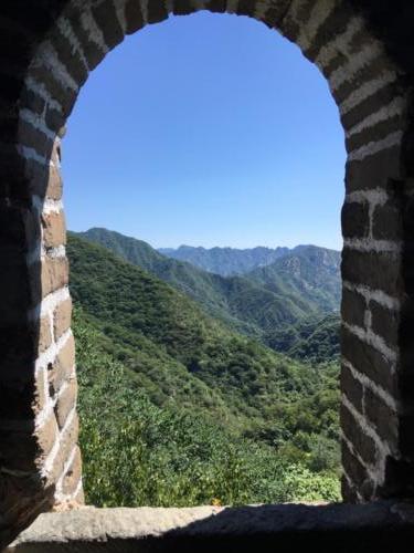 Fenêtre sur la Grande Muraille