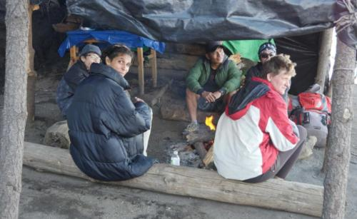 Feu de camp à 3600 m. Acatenango