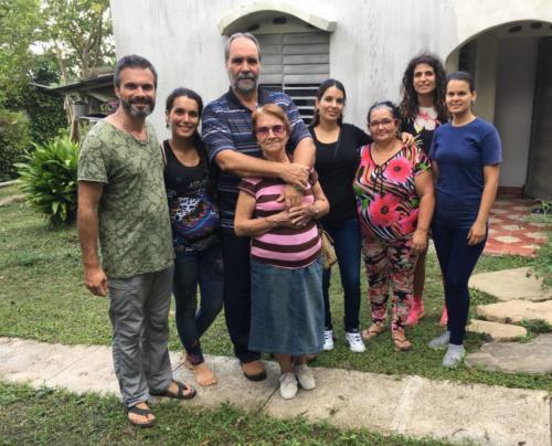 Familia Finca del medio