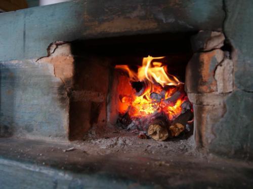 Foyer du four à bois