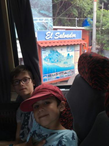 Frontière Guatemala El Salvador