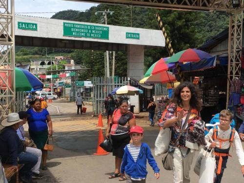 Frontière Mexique-Guatemala