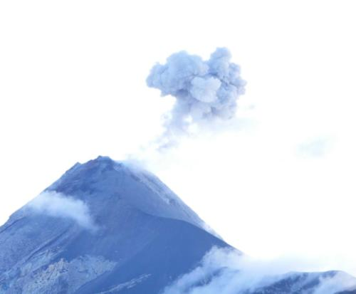 Fumée Volcan Fuego
