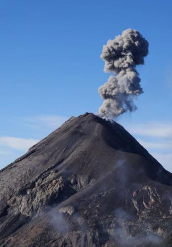 Fumées Volcan Fuego