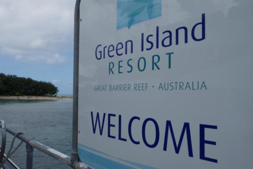 Green Island, barrière de corail