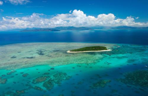 Green Island vue du drone