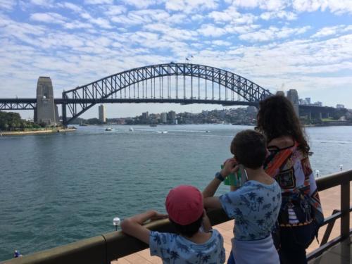 Harbour Bridge depuis l'Opéra