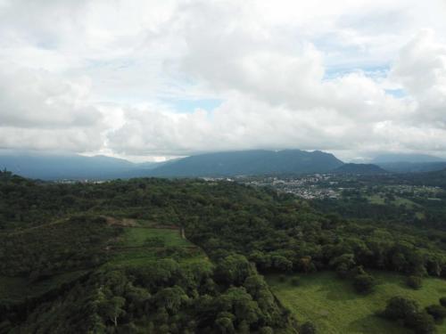 Huatusco, vu du ciel