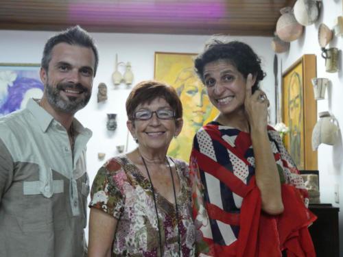 Interview de Maria Caridad CRUZ de la Fondation Antonio Nunez Jimenez, La Havane