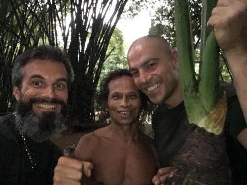 Jony, Stéphane et Xavier