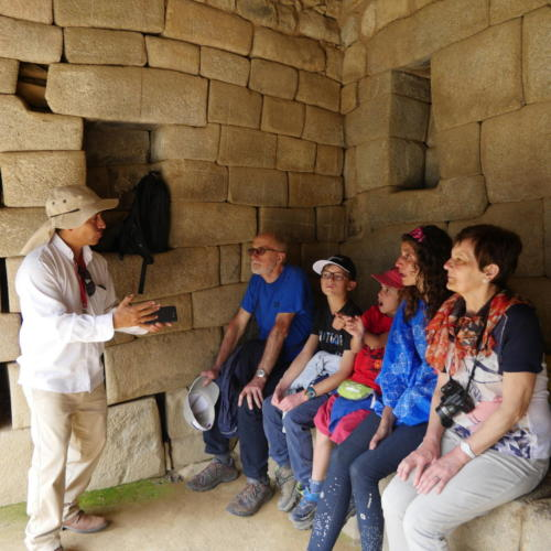 Jorge, notre guide Machu Picchu