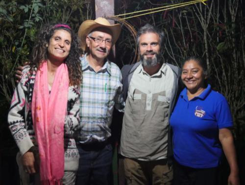 Joselina, Mario et la Permaculture Family