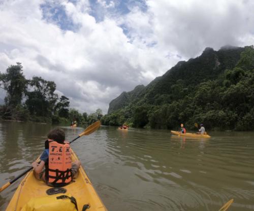 Kayak Esteban