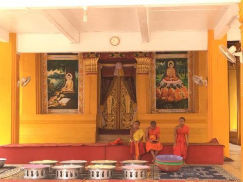 L'école des moines, Vientiane (2)