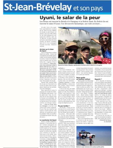 La Gazette Permaculture Family Uyuni 10.05.19