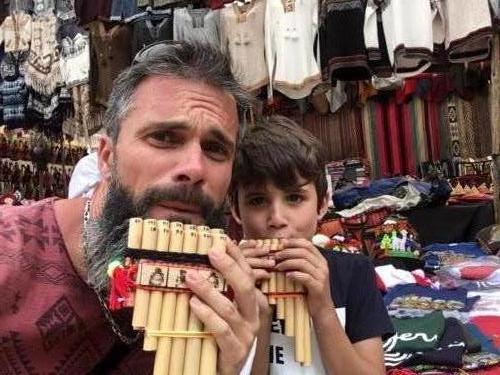 La célèbre flûte andine