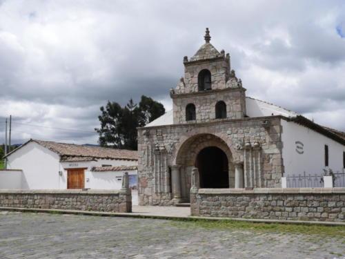 La plus vielle église d'Equateur 1535