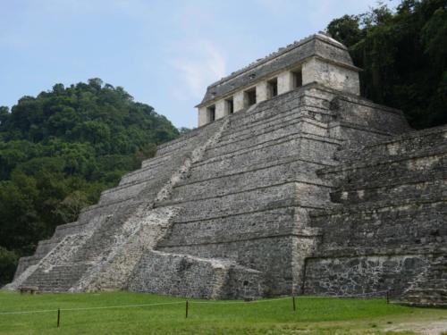 La pyramides des Inscriptions de Palenque, Chiapas