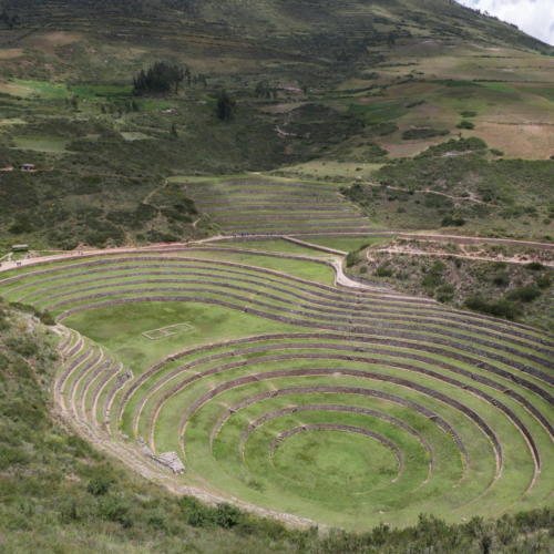 Laboratoire incas, Moray
