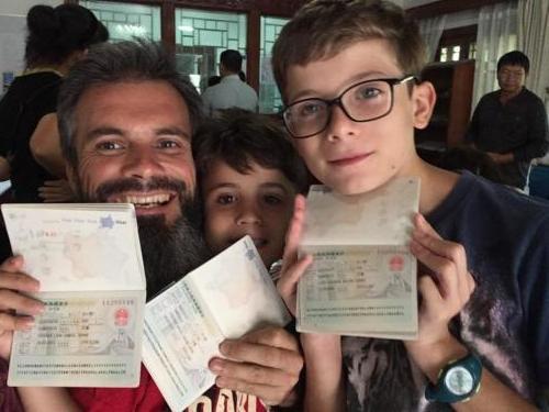 Le visa pour la Chine !