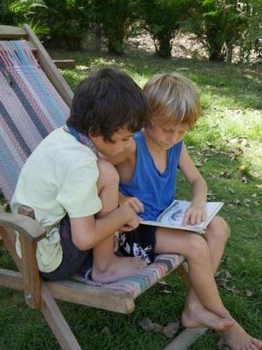 Lecture commune Esteban et Tiago
