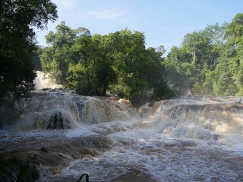 Les cascades d'Agua Azul, Chiapas