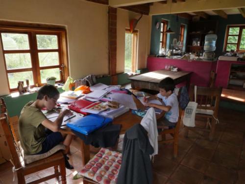 Les devoirs des enfants