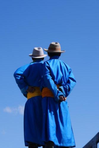 Les hommes bleus